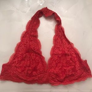 Other - Red lace bralette